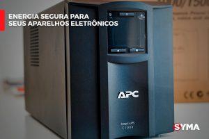 Energia segura para seus aparelhos eletrônicos