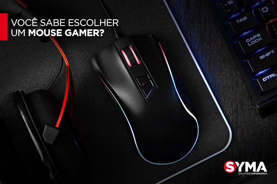 Você sabe escolher um mouse gamer?