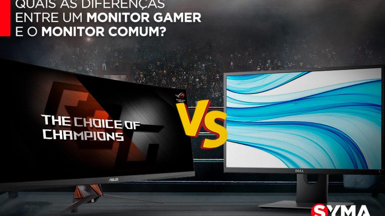 Quais As Diferenças Entre Um Monitor Gamer E O Monitor Comum