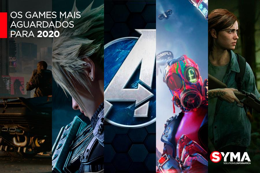 Os games mais aguardados para 2020