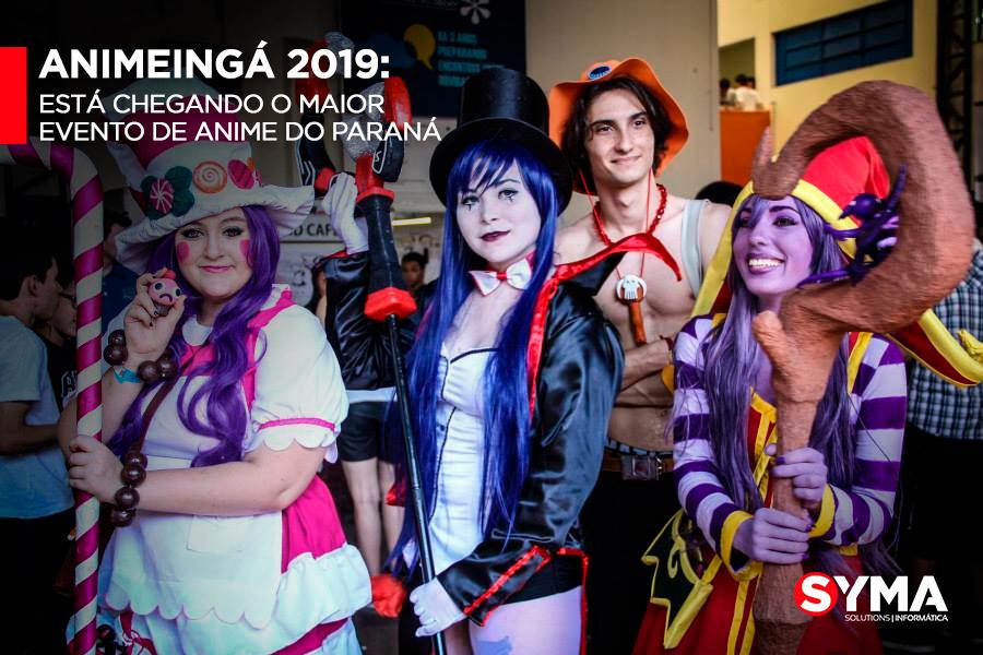 AnimeIngá 2019: Está chegando o maior evento de Anime do Paraná