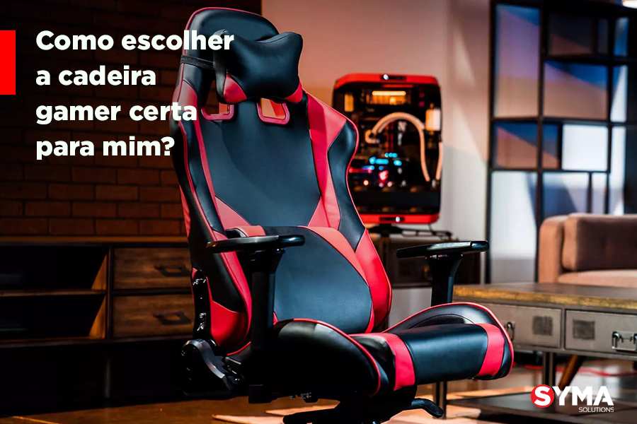 Como escolher a cadeira gamer certa para mim?